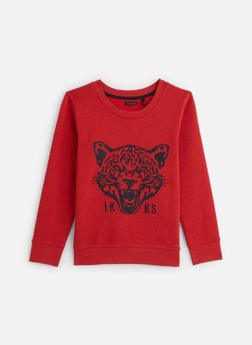 Vêtements IKKS JUNIOR  Sweatshirt XQ15003 Rouge vue détail/paire