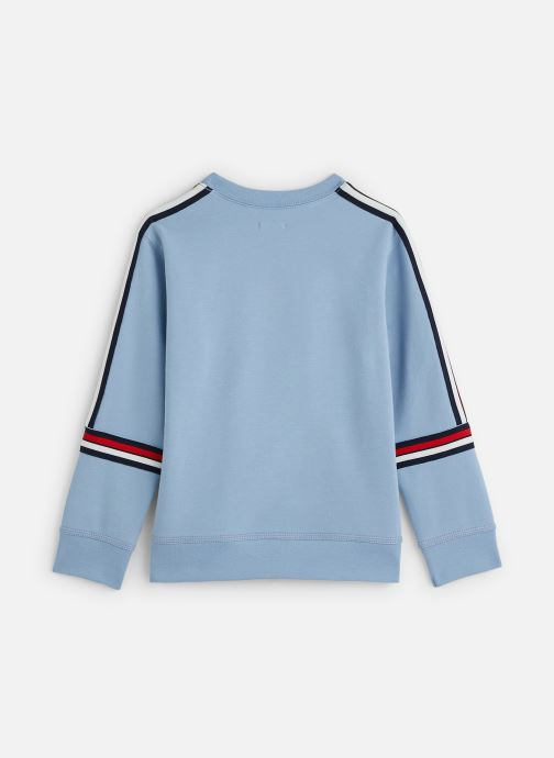 Vêtements IKKS JUNIOR  Sweatshirt XQ15023 Bleu vue bas / vue portée sac