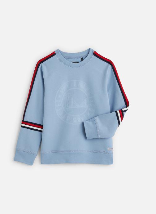 Vêtements IKKS JUNIOR  Sweatshirt XQ15023 Bleu vue détail/paire