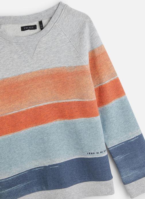Vêtements IKKS JUNIOR  Sweatshirt XQ15053 Multicolore vue portées chaussures