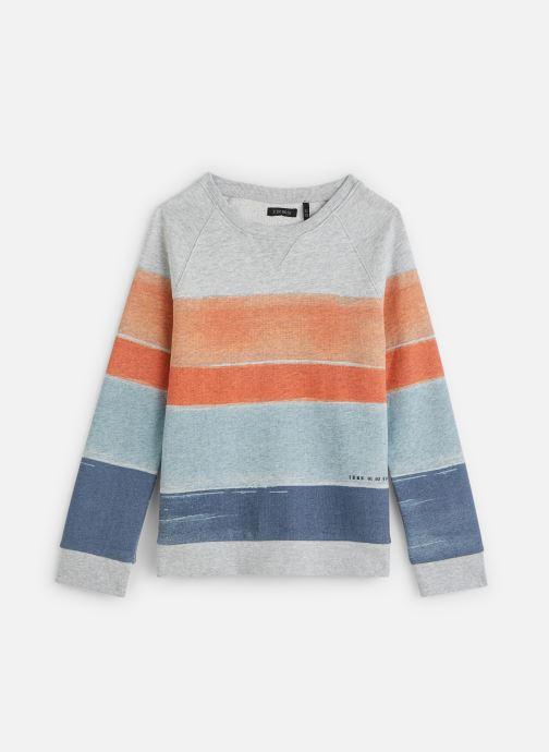 Vêtements IKKS JUNIOR  Sweatshirt XQ15053 Multicolore vue détail/paire