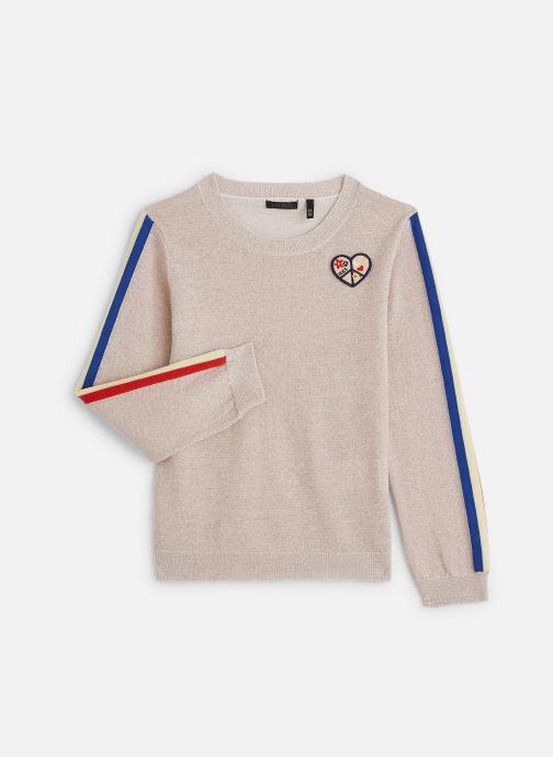 Vêtements IKKS JUNIOR  Pull ML XQ18102 Rose vue détail/paire