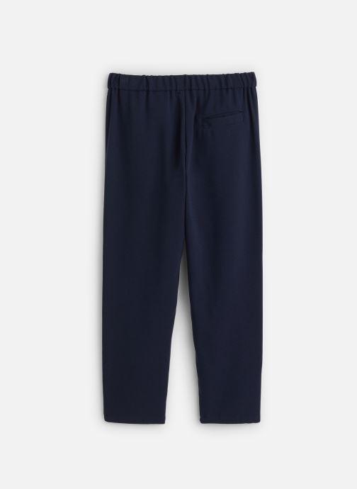 Vêtements IKKS JUNIOR  Pantalon fluide XQ22002 Bleu vue bas / vue portée sac