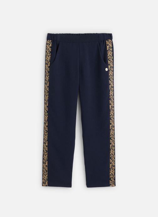 Vêtements IKKS JUNIOR  Pantalon fluide XQ22002 Bleu vue détail/paire