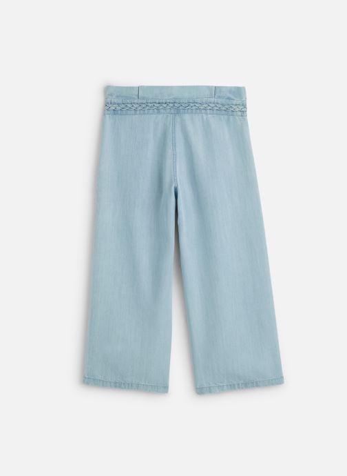 Vêtements IKKS JUNIOR  Pantalon fluide XQ22012 Bleu vue bas / vue portée sac