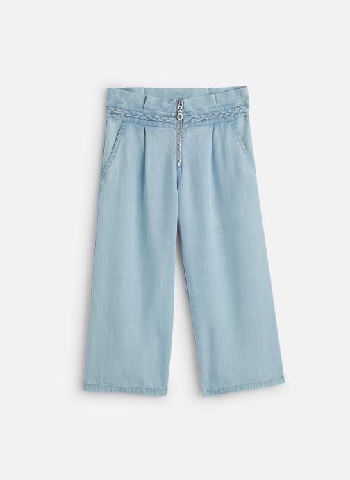 Vêtements IKKS JUNIOR  Pantalon fluide XQ22012 Bleu vue détail/paire