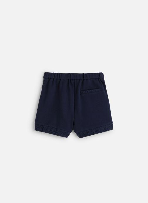 Vêtements IKKS JUNIOR  Short XQ26002 Bleu vue bas / vue portée sac