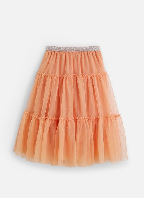 Vêtements IKKS JUNIOR  Jupe tulle XQ27012 Orange vue bas / vue portée sac
