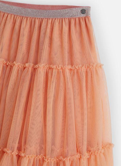Vêtements IKKS JUNIOR  Jupe tulle XQ27012 Orange vue portées chaussures