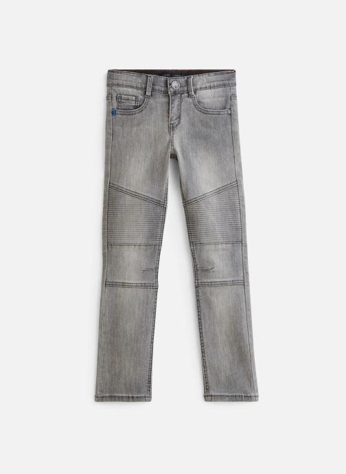 Vêtements IKKS JUNIOR  Jean biker XQ29083 Gris vue détail/paire