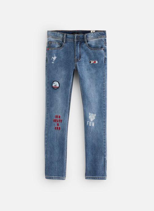 Vêtements IKKS JUNIOR  Jean slim XQ29113 Bleu vue détail/paire
