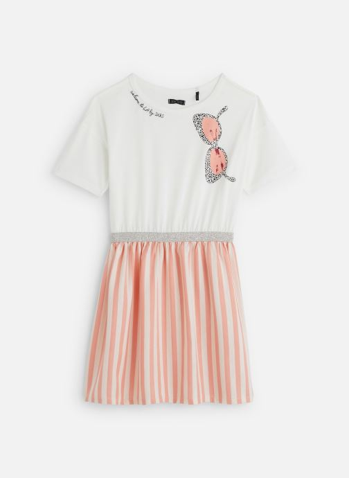 Vêtements IKKS JUNIOR  Robe XQ30042 Rose vue détail/paire