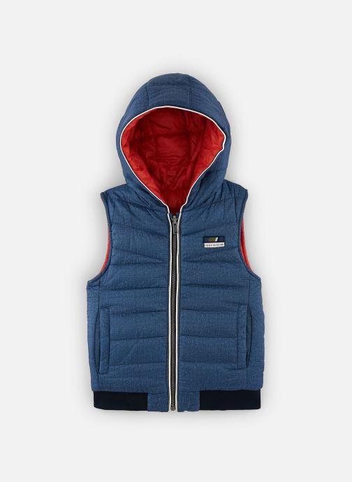 Vêtements IKKS JUNIOR  Doudoune SM réversible XQ41083 Bleu vue détail/paire
