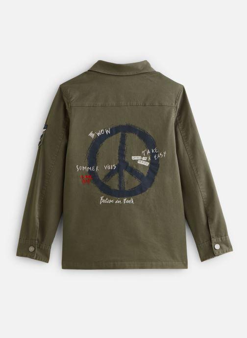 Vêtements IKKS JUNIOR  Veste saharienne XQ42003 Vert vue bas / vue portée sac