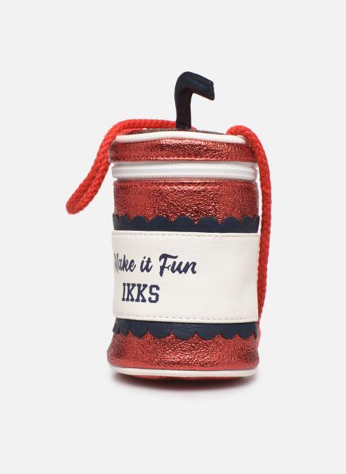 Handtaschen IKKS JUNIOR  Sac porté épaule XQ95022 rot schuhe getragen