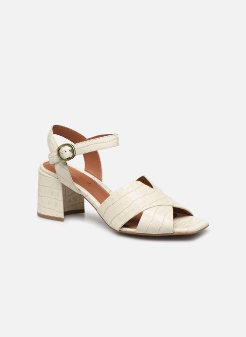 Sandales et nu-pieds Bruno Premi BZ 0503X Blanc vue détail/paire