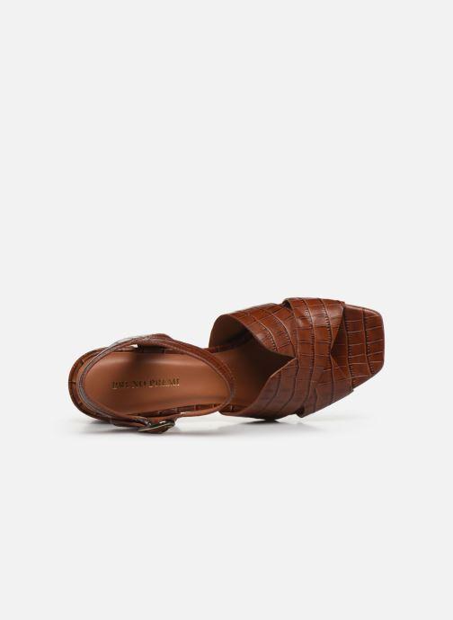Sandales et nu-pieds Bruno Premi BZ 0503X Marron vue gauche