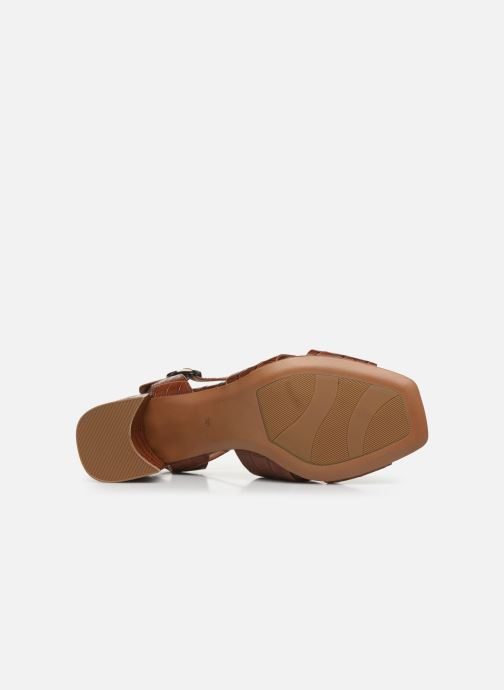 Sandales et nu-pieds Bruno Premi BZ 0503X Marron vue haut