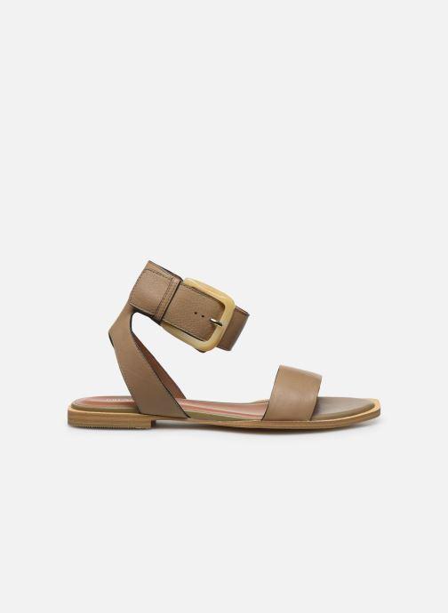 Sandales et nu-pieds Bruno Premi BZ 0902X Vert vue derrière
