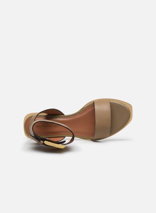 Sandales et nu-pieds Bruno Premi BZ 0902X Vert vue gauche
