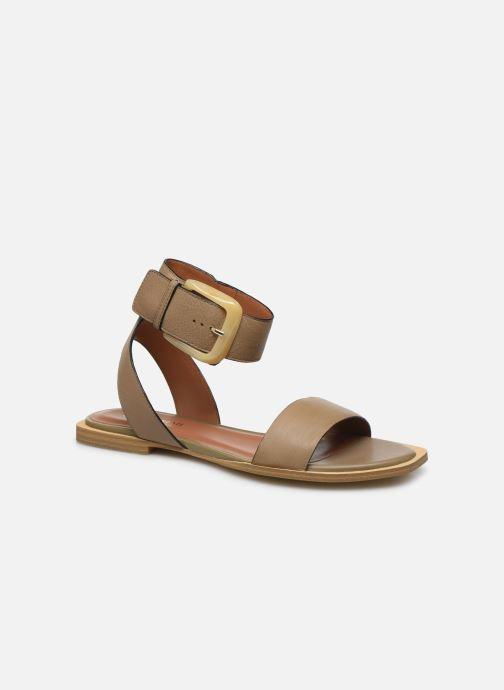 Sandales et nu-pieds Bruno Premi BZ 0902X Vert vue détail/paire