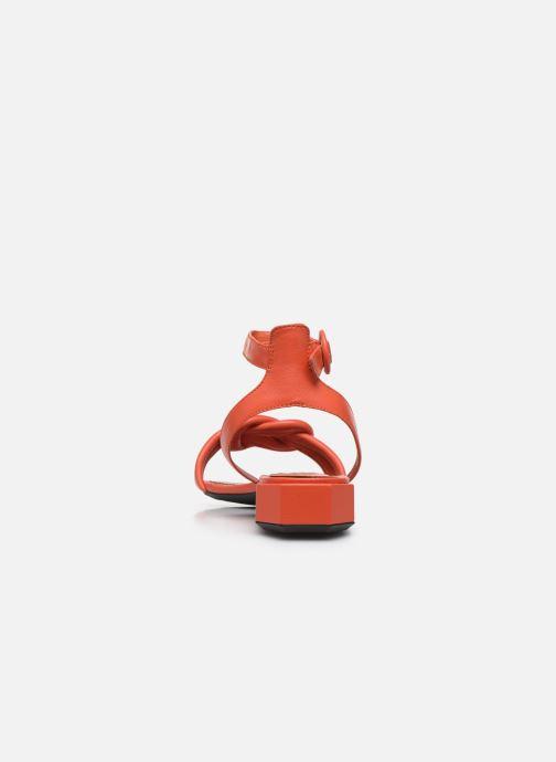Sandales et nu-pieds Bruno Premi BZ 0202X Orange vue droite