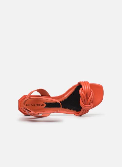 Sandales et nu-pieds Bruno Premi BZ 0202X Orange vue gauche