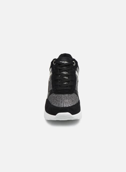 Baskets Dune London ELOUERA Noir vue portées chaussures