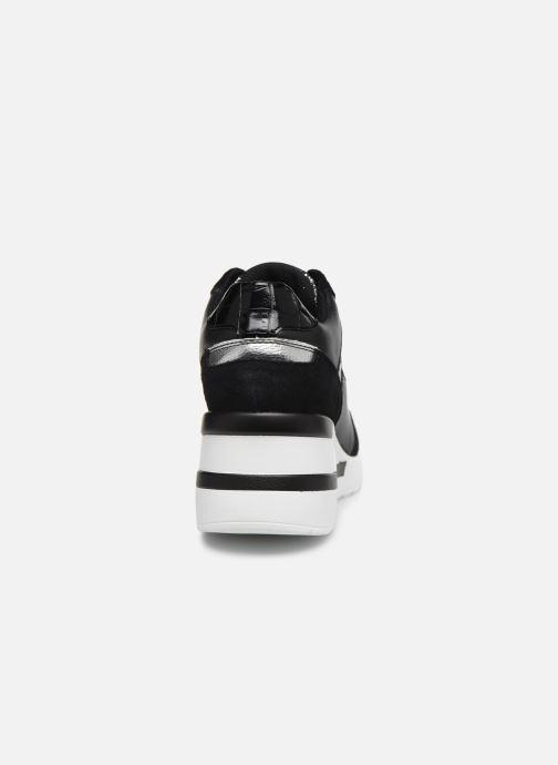 Sneaker Dune London ELOUERA schwarz ansicht von rechts