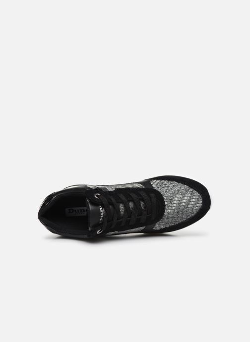 Sneaker Dune London ELOUERA schwarz ansicht von links