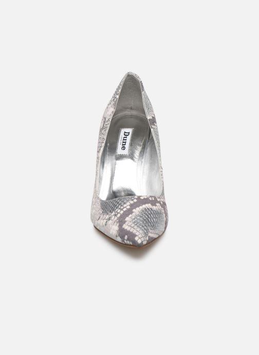 Escarpins Dune London ANNA Gris vue portées chaussures