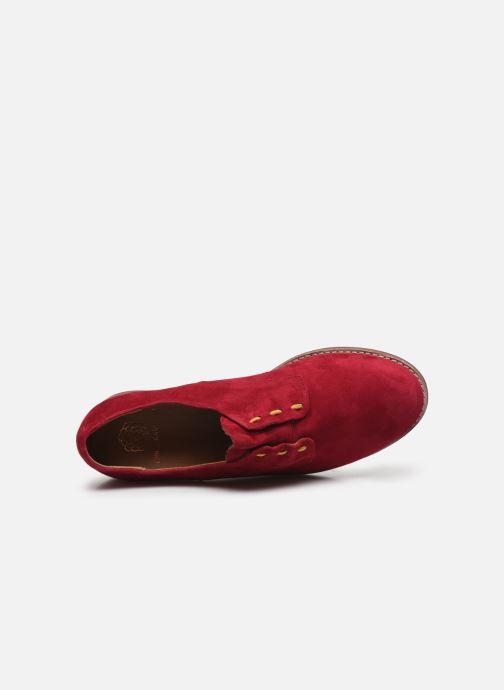 Scarpe con lacci Karston ACINDA Rosso immagine sinistra