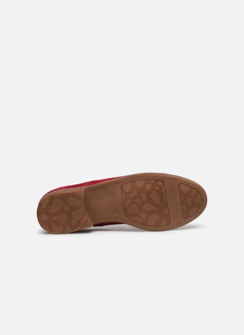 Scarpe con lacci Karston ACINDA Rosso immagine dall'alto