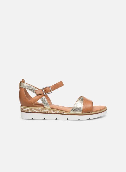 Sandales et nu-pieds Karston KILGUM Marron vue derrière