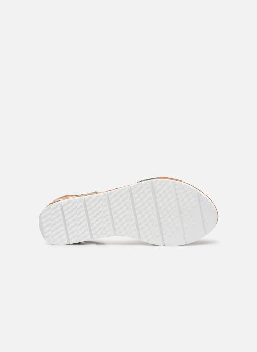 Sandales et nu-pieds Karston KILGUM Marron vue haut
