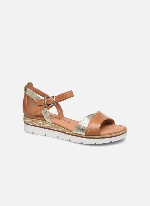 Sandales et nu-pieds Karston KILGUM Marron vue détail/paire