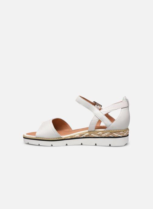 Sandales et nu-pieds Karston KILGUM Blanc vue face