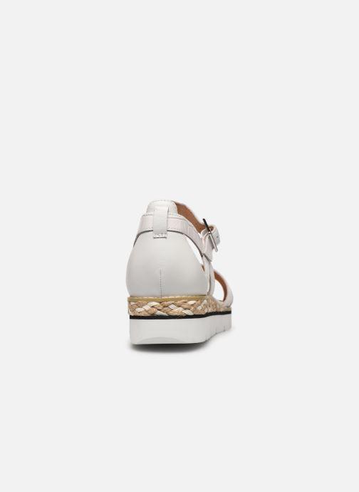 Sandales et nu-pieds Karston KILGUM Blanc vue droite