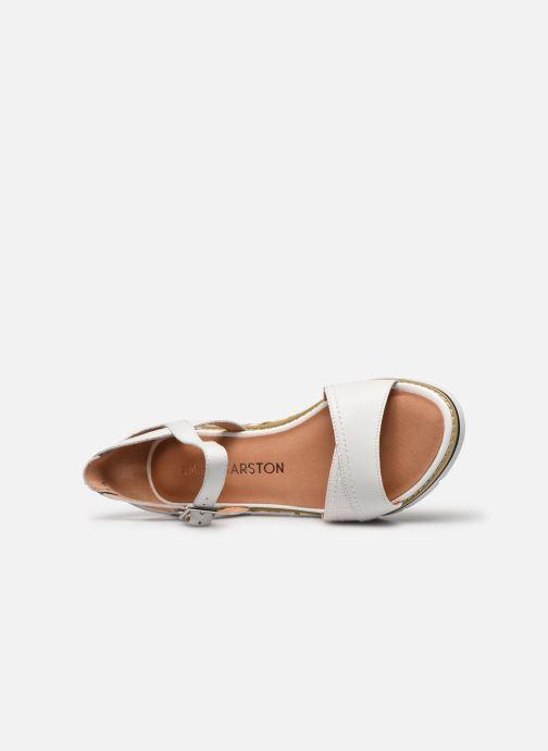 Sandales et nu-pieds Karston KILGUM Blanc vue gauche
