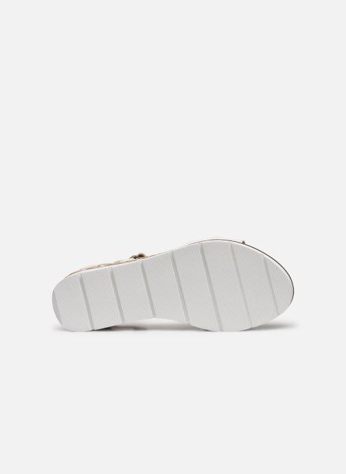 Sandales et nu-pieds Karston KILGUM Blanc vue haut