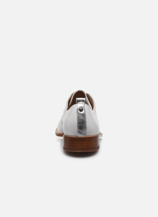 Chaussures à lacets Karston JENIFER Blanc vue droite