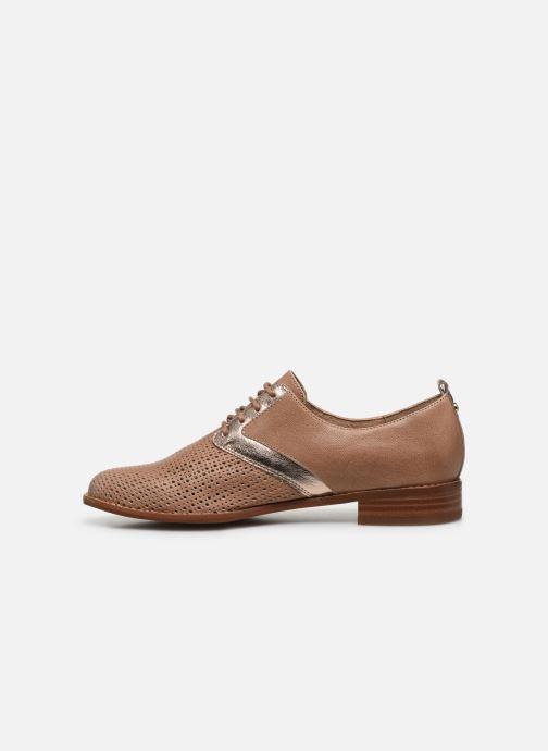 Chaussures à lacets Karston JENIFER Beige vue face