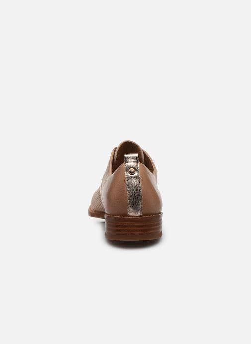 Chaussures à lacets Karston JENIFER Beige vue droite