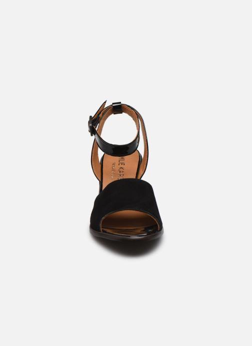 Sandali e scarpe aperte Karston LIBOU Nero modello indossato