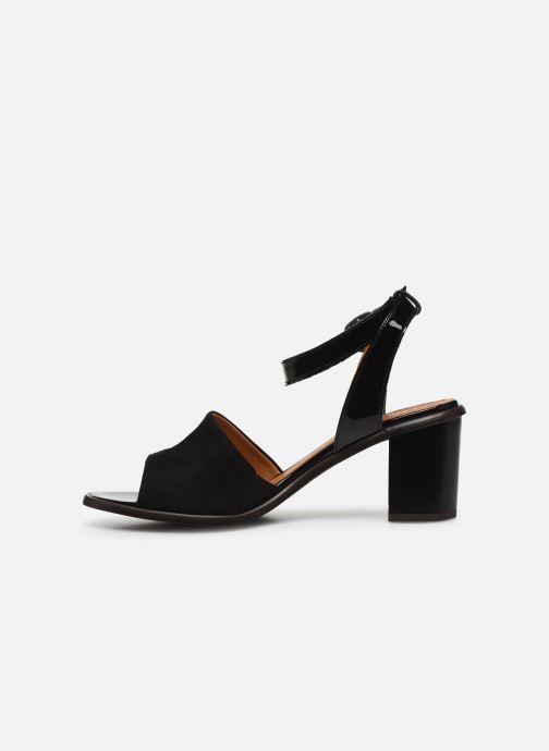 Sandali e scarpe aperte Karston LIBOU Nero immagine frontale