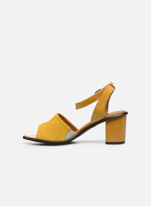 Sandali e scarpe aperte Karston LIBOU Giallo immagine frontale
