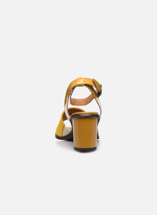 Sandali e scarpe aperte Karston LIBOU Giallo immagine destra
