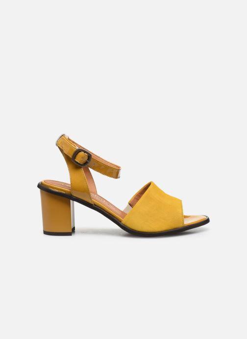 Sandali e scarpe aperte Karston LIBOU Giallo immagine posteriore