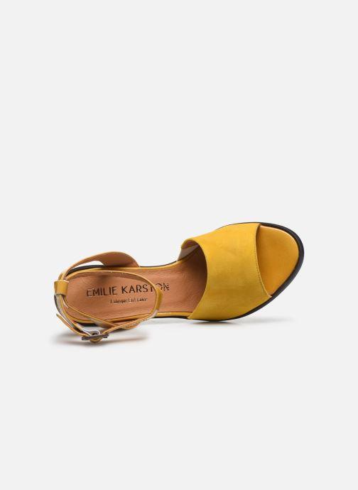 Sandali e scarpe aperte Karston LIBOU Giallo immagine sinistra