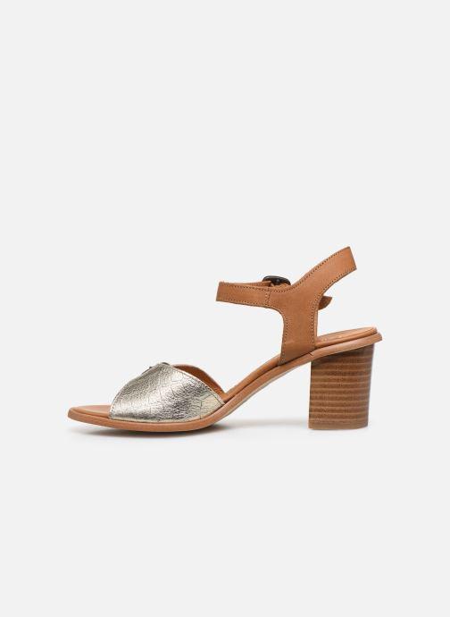 Sandali e scarpe aperte Karston LIFLO Marrone immagine frontale
